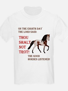 Not Trot - Rack Kids T-Shirt