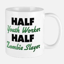 Half Youth Worker Half Zombie Slayer Mugs
