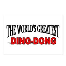 """The World's Greatest Ding-Dong"" Postcards (Packag"