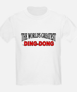 """The World's Greatest Ding-Dong"" Kids T-Shirt"