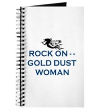 GOLD DUST WOMAN Journal