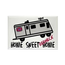 Home Sweet Redneck Home RV Rectangle Magnet