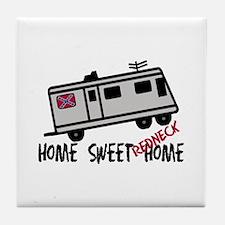 Home Sweet Redneck Home RV Tile Coaster