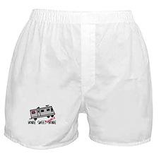 Home Sweet Redneck Home RV Boxer Shorts