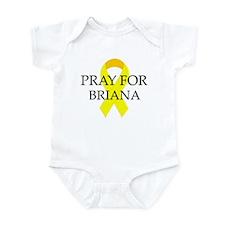 Pray for Briana Infant Bodysuit