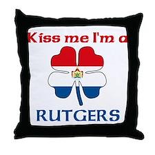 Rutgers Family Throw Pillow