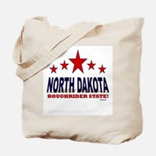 North Dakota Roughrider State Tote Bag