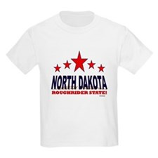 North Dakota Roughrider State T-Shirt