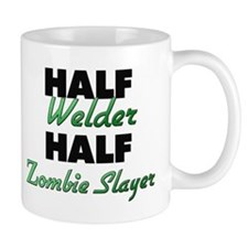 Half Welder Half Zombie Slayer Mugs