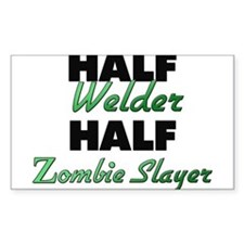 Half Welder Half Zombie Slayer Decal