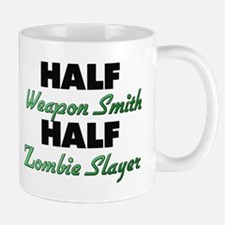 Half Weapon Smith Half Zombie Slayer Mugs