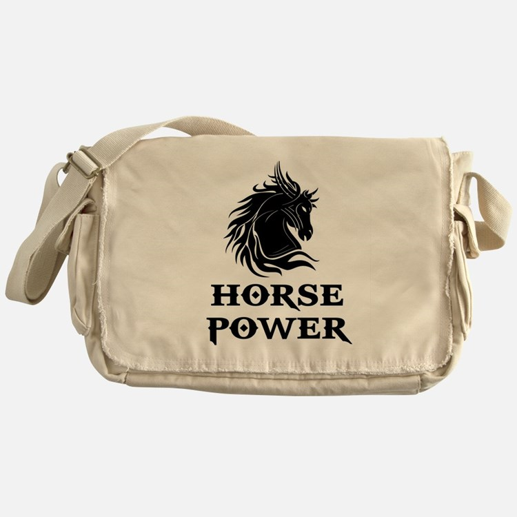 HORSE POWER Messenger Bag