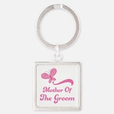 Mother of the Groom Square Keychain
