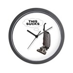 This Sucks Wall Clock