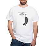 This Sucks White T-Shirt