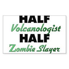 Half Volcanologist Half Zombie Slayer Decal