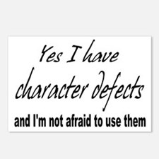 Character Defects Postcards (Package of 8)