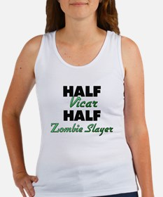 Half Vicar Half Zombie Slayer Tank Top