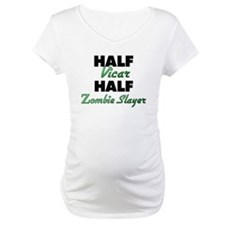 Half Vicar Half Zombie Slayer Shirt