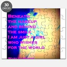 Beneath the Makeup Puzzle