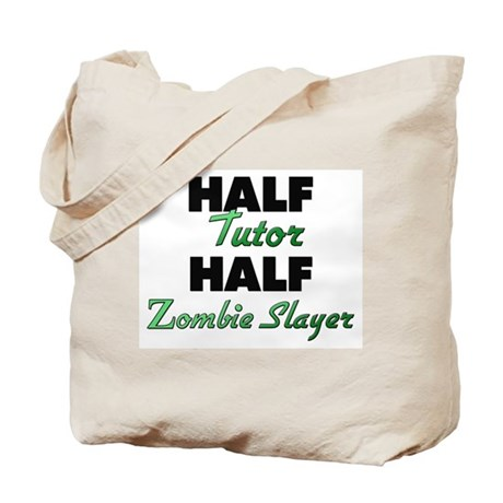 Half Tutor Half Zombie Slayer Tote Bag