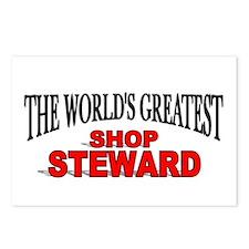 """The World's Greatest Shop Steward"" Postcards (Pac"