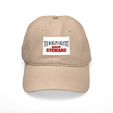 """""""The World's Greatest Shop Steward"""" Baseball Cap"""