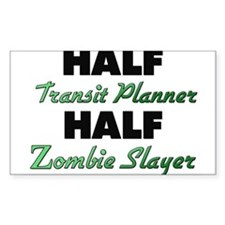 Half Transit Planner Half Zombie Slayer Decal