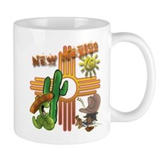 New Mexico Tequila Worm Siesta Mugs