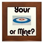 Your House or Mine? Framed Tile