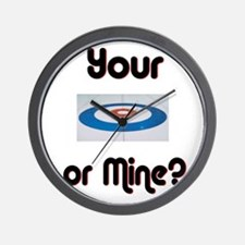 Your House or Mine? Wall Clock