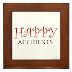 Happy Accidents Framed Tile