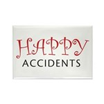 Happy Accidents Rectangle Magnet (100 pack)