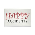 Happy Accidents Rectangle Magnet (10 pack)