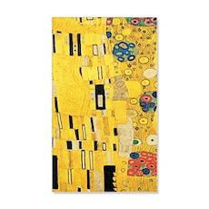 Klimt the Kiss Pattern Detail Wall  Decal Sticker