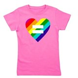 Gay marriage Girl's Dark T-Shirt