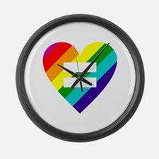 Unique Marriage equality Large Wall Clock
