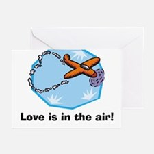Love is in the air Greeting Cards (Pk of 10)
