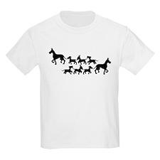 Double Silhouette Kids T-Shirt