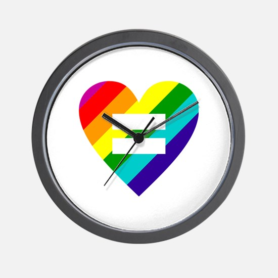 Unique Gay pride Wall Clock