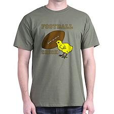 Football Chick Sports Fan T-Shirt