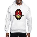 Red Spanish Rapier Hilt Hooded Sweatshirt