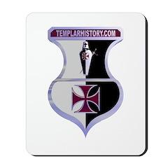 Templar Logo Shield Mousepad