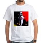 Templar Shield White T-Shirt