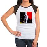 Templar Shield Women's Cap Sleeve T-Shirt