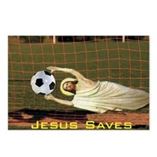 Cute Funny christian Postcards (Package of 8)
