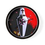 Templar Shield Wall Clock