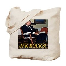 JFK Rocks! Tote Bag