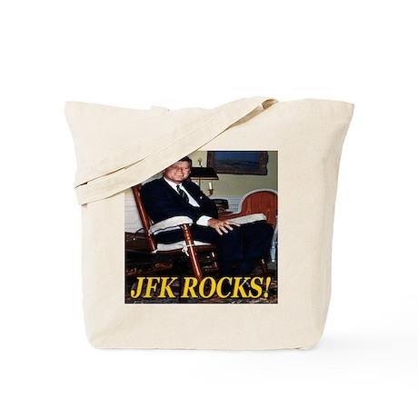 JFK Rocks! Tote Bag