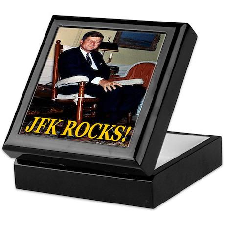 JFK Rocks! Keepsake Box